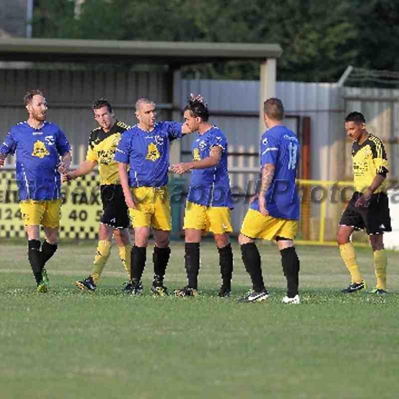 Chippenham Town V Melksham Town Pre-Season Friendly 31st July 2014