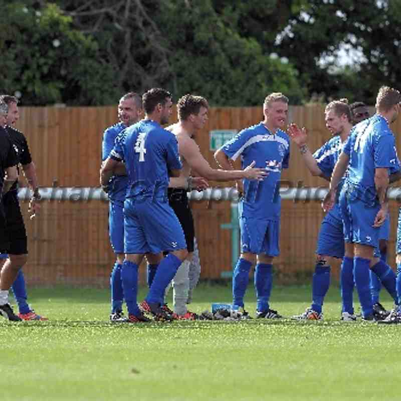 Chippenham Town V Biggleswade Town match pictures 9th August 2014
