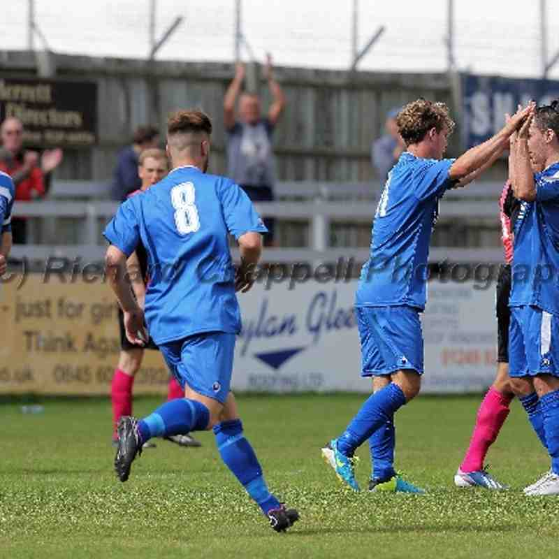 Chippenham Town V Arlesey Town Match Pictures 16th August 2014
