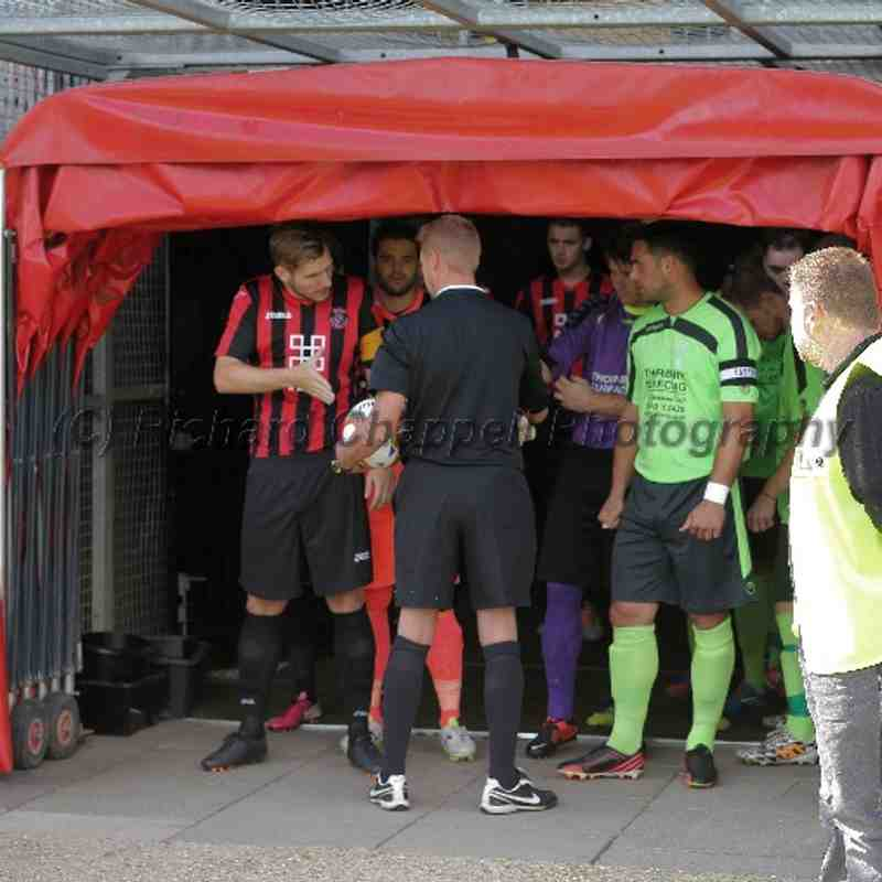 Chippenham Town V Histon Match Pictures 23rd August 2014