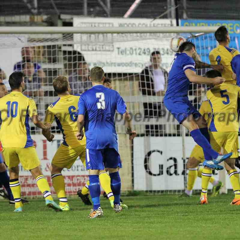 Chippenham Town V Weymouth Match Pictures 9th September 2014