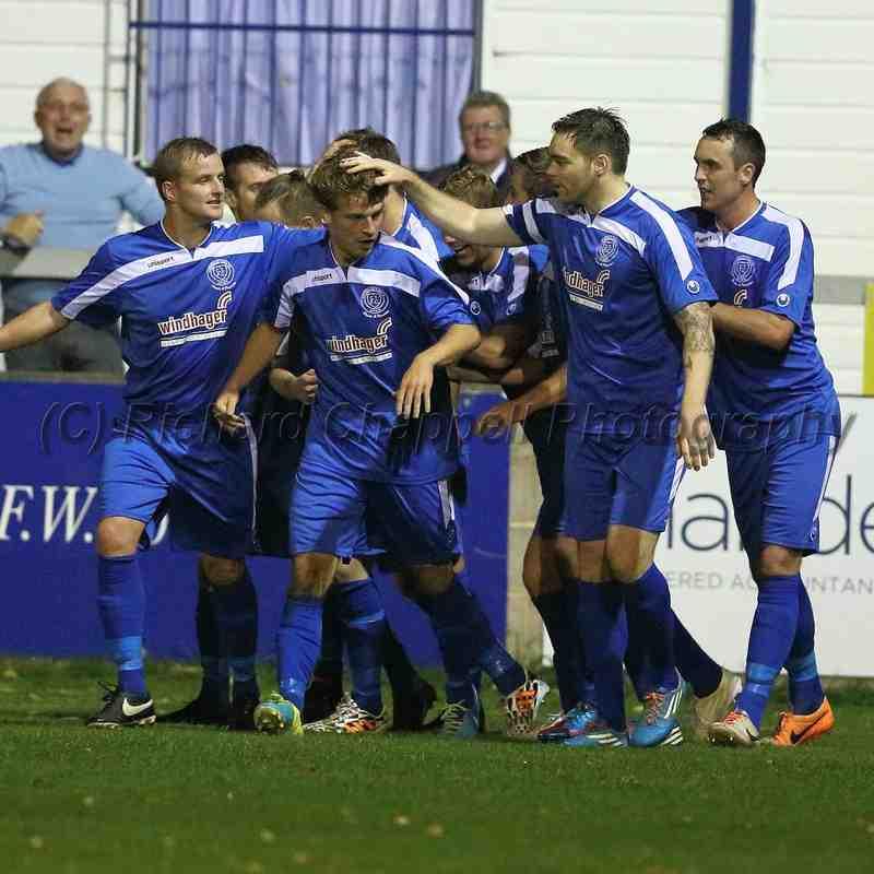ChippenhamTown V Hereford United Match Pictures 30th September 2014