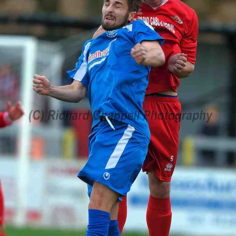 Chippenham Town V Frome Town Macth Pictures FA Trophy 1st Round Qualifying