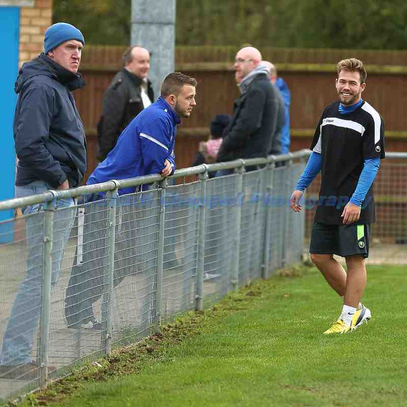 Chippenham Town V Bedford Town Match Pictures 15th Nov 2014