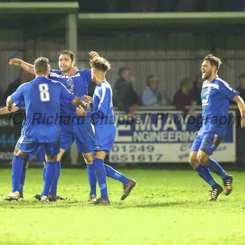 Chippenham Town V Chesham United Match Pictures 15th November 2014