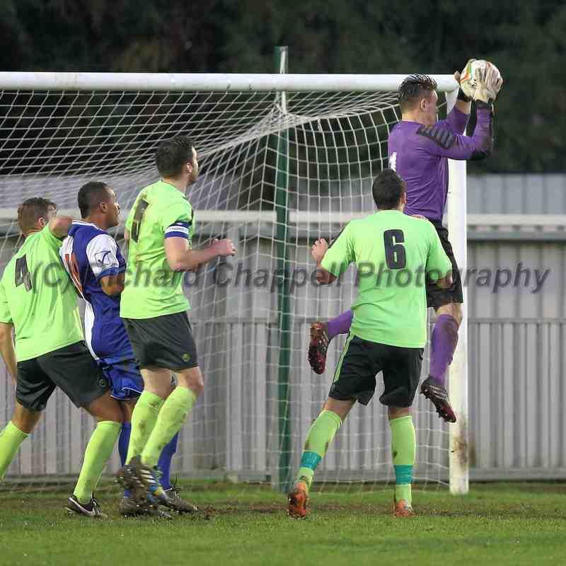 Chippenham Town V Burnham Match Pictures 29th November 2014