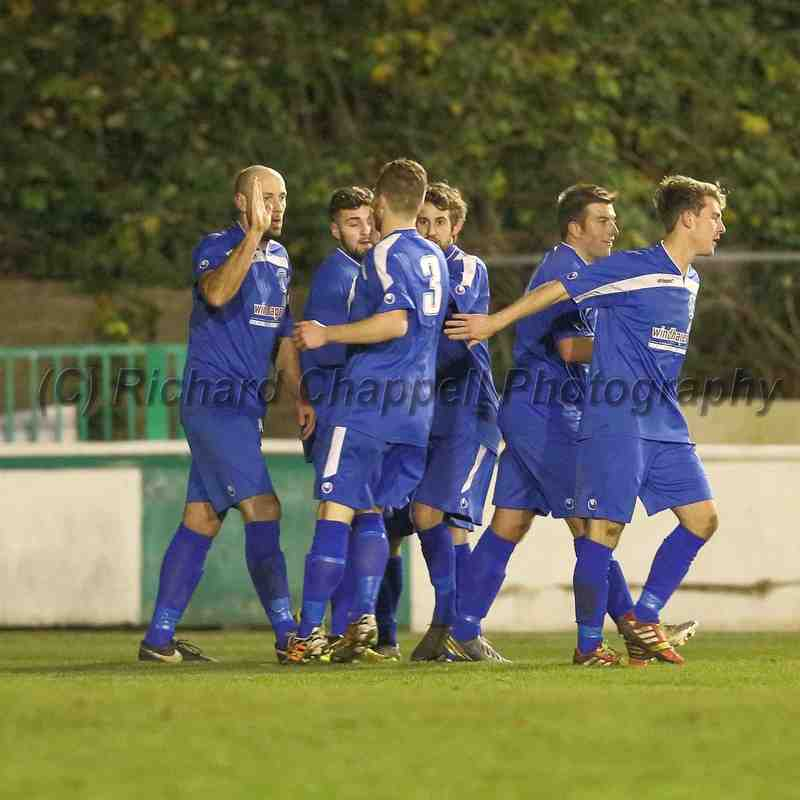Chippenham Town V Hitchin Town Match Pictures 8th Dec 2014