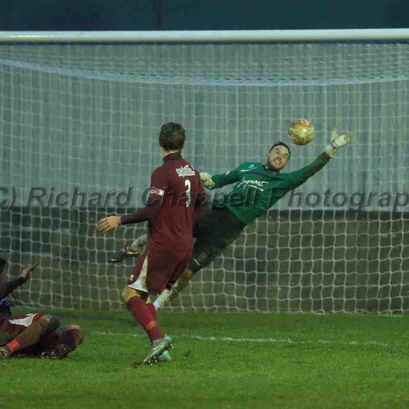 Chippenham Town V Paulton Rovers Match Pictures 26th Dec 2014