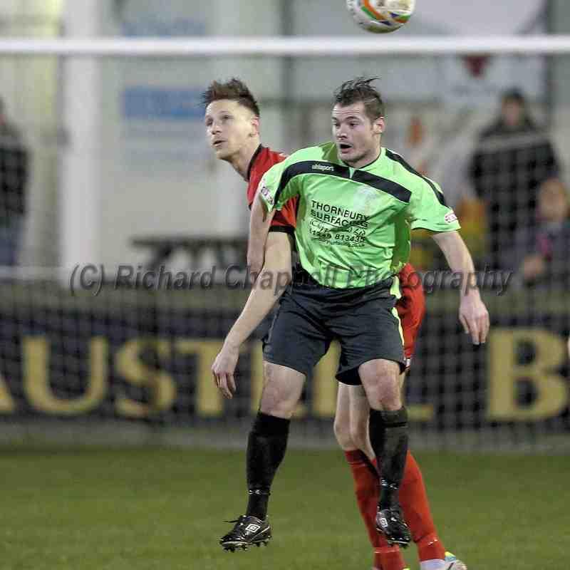 Chippenham Town V Truro City Match Pictures 27th Jan 2015