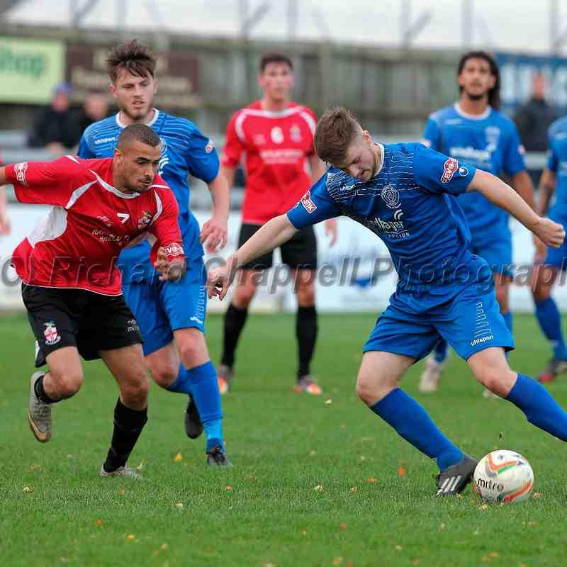 Chippenham Town V Redditch Umited Match Pictures 7th Nov 2015