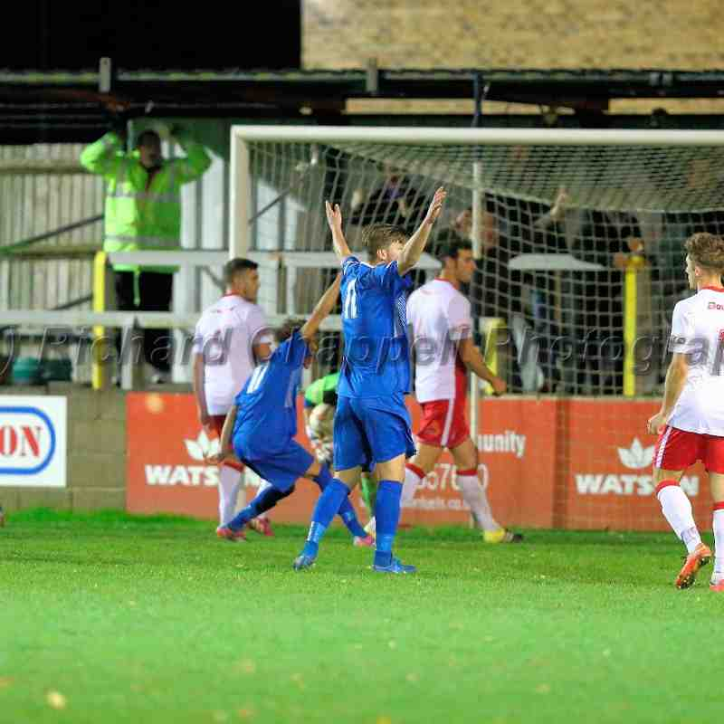 Chippenham Town V PooleTown Match Pictures 17th Nov 2015