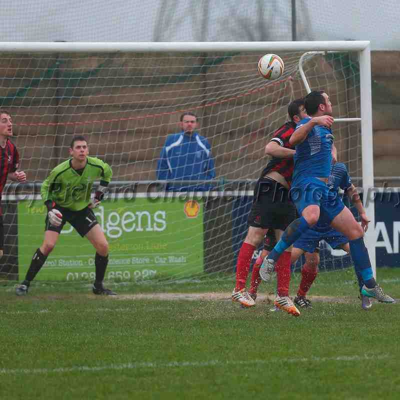 Chippenham Town V Cirencester Town Match Pictures 2nd Jan 2016
