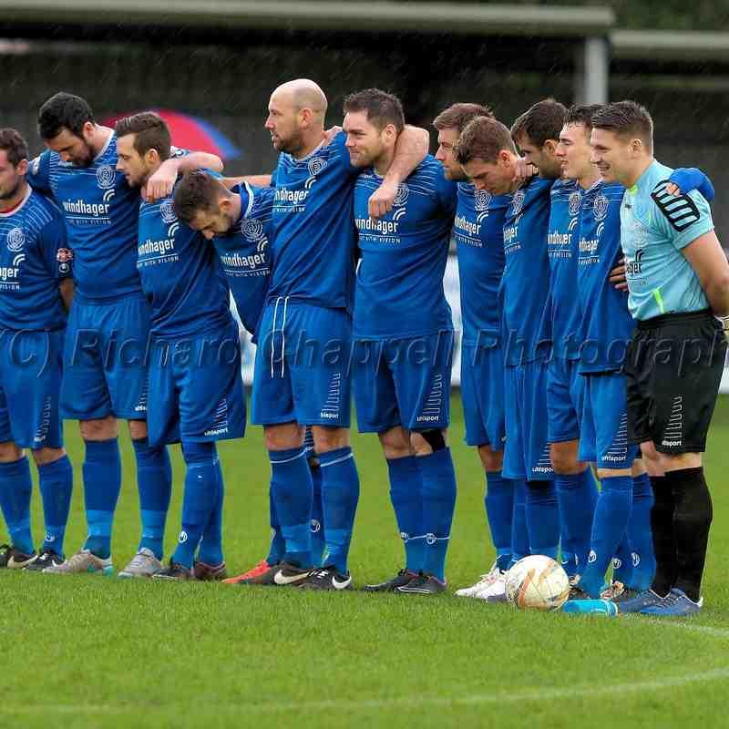 Chippenham Town V Leamington Match Pictures 9th Jan 2016
