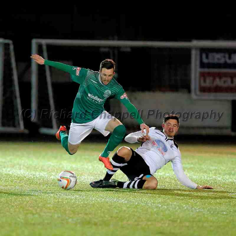 Chippenham Town V Merthyr Town Red Insure Cup Match Pictures 12th Jan 2016