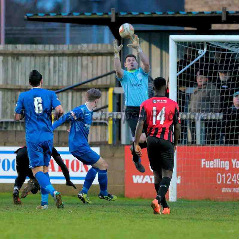 Chippenham Town V Histon Match Pictures 23rd Jan 2016
