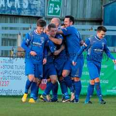 Chippenham Town V Kings Lynn Town Town Match Pictures 30th Jan 2016