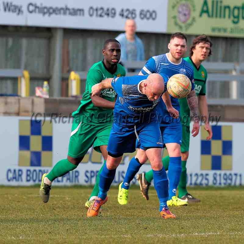 Chippenham Town V Hitchin Town Match Pictures 12th March 2016