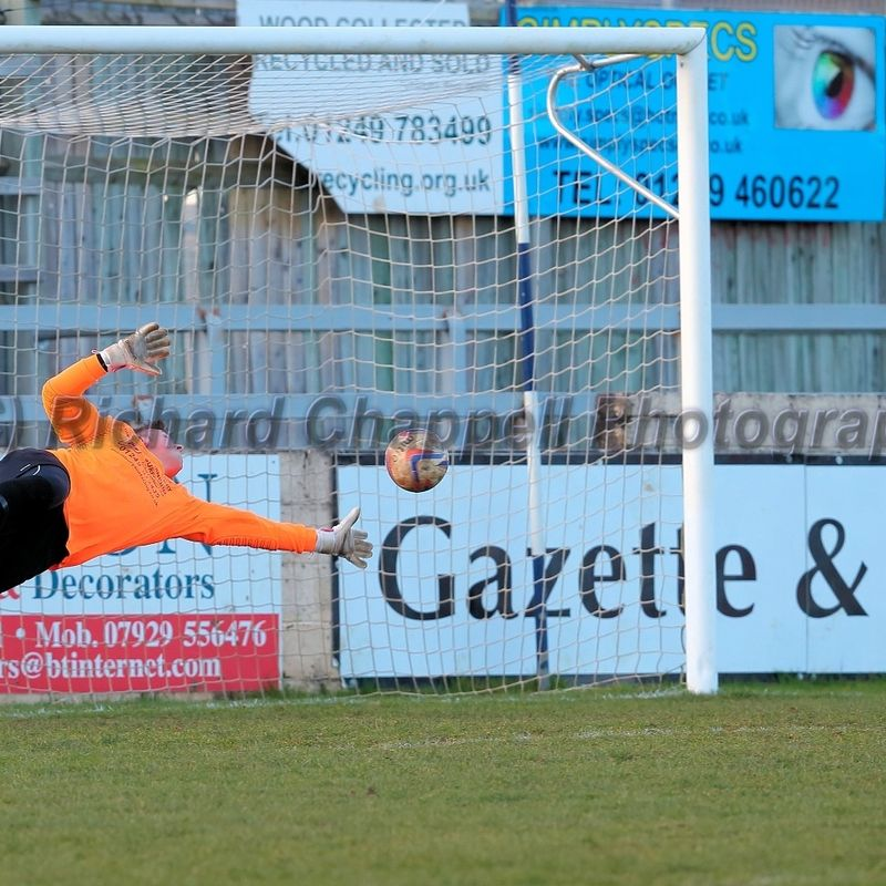 Chippenham Park V Chard Town Match Pictures 2nd March 2016