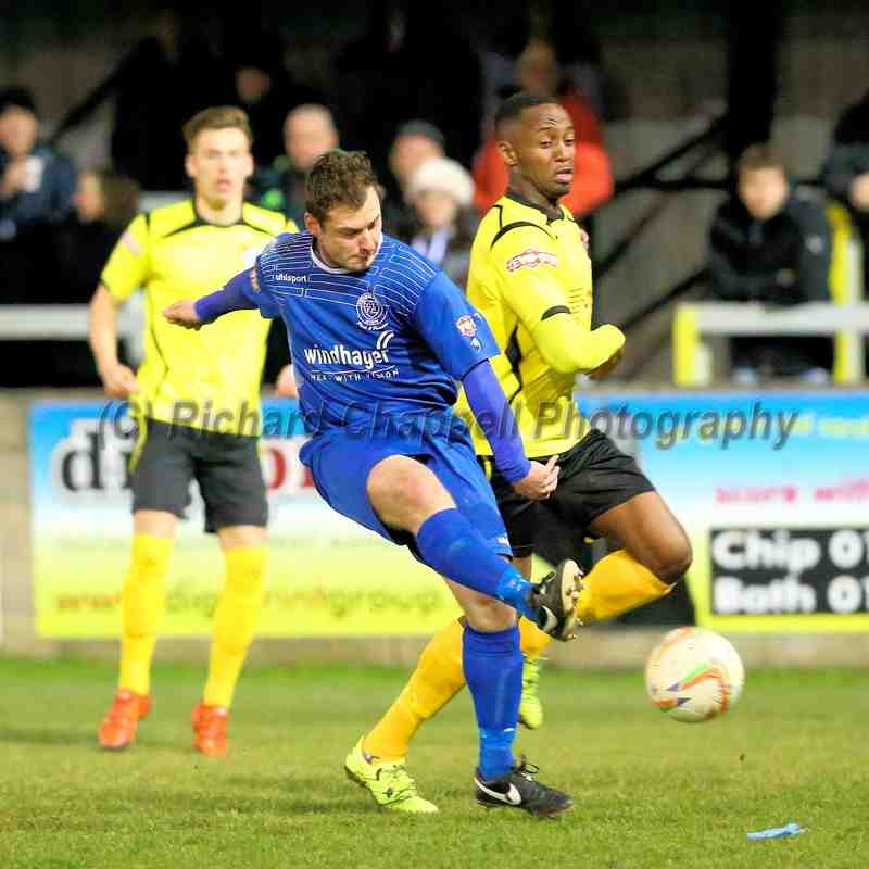 Chippenham Town v Chesham United Match Pictures 15th March 2016