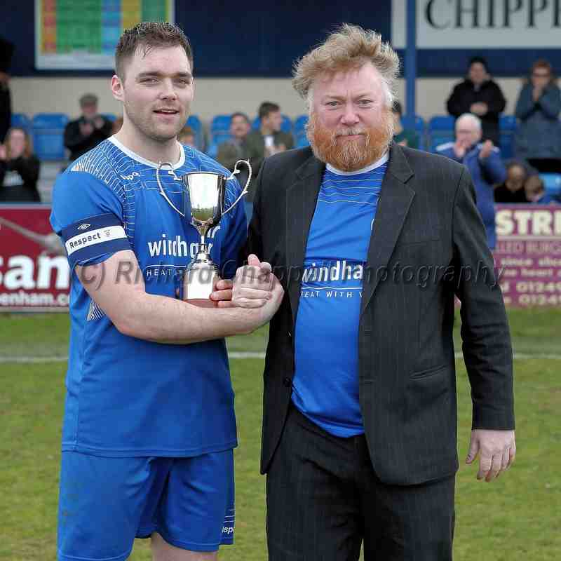 Chippenham Town V Paulton Rovers Match Pictures 23rd April 2016