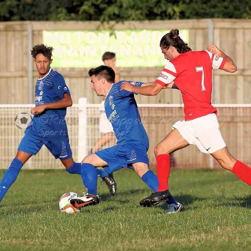 Chippenham Town V Didcot Town FC Match Pictures 19th July 2016