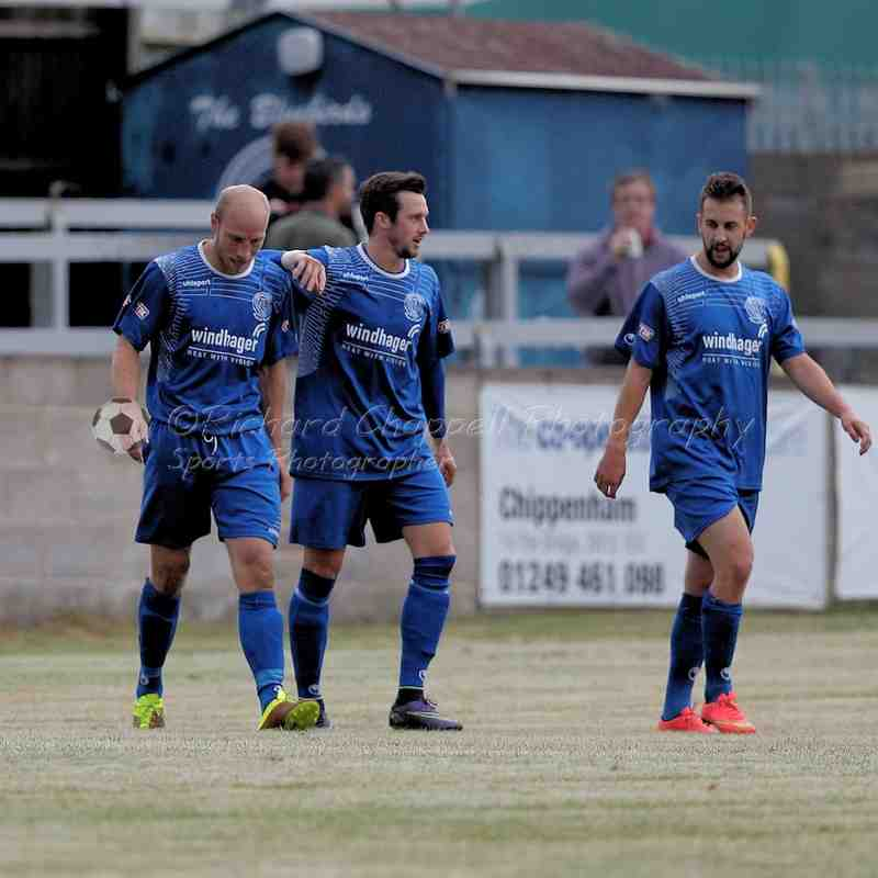 Chippenham Town V Hallen FC Match Pictures 26th July 2016