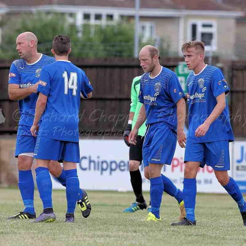Chippenham Town V Melksham town Match Pictures 30th July 2016