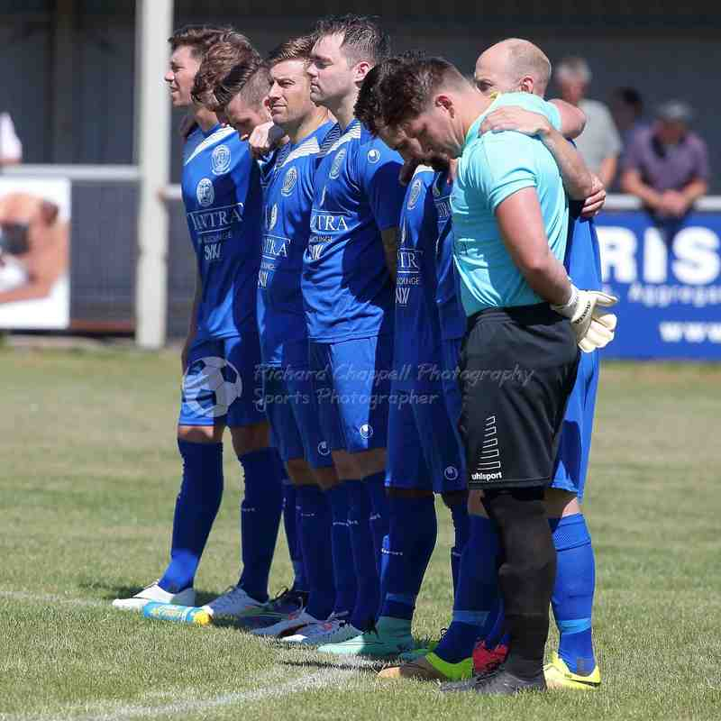 Chippenham Town V Kings Langley Match Pictures 6th August 2016