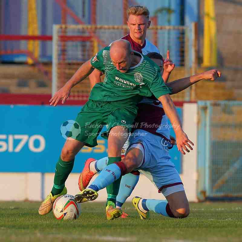 Chippenham Town V Weymouth Match Pictures 9th August 2016
