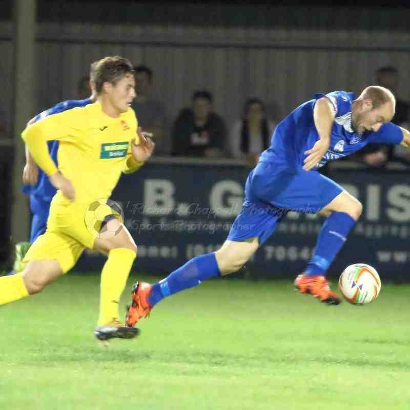 Chippenham Town V Banbury United Match Pictures 13th September 2016