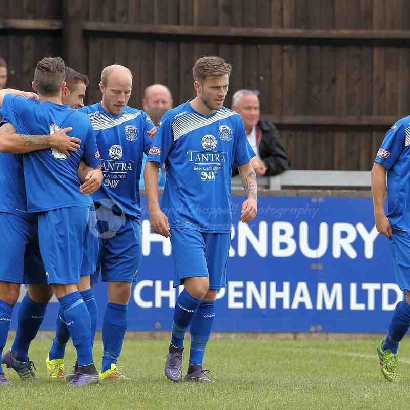 Chippenham Town V Poole Town F.A. Cup 2 Round Match Pictures 17th September 2016