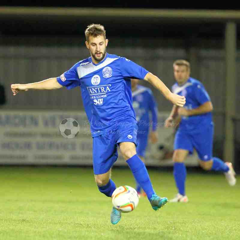 Chippenham Town V Wroughton Match Pictures (Wiltshire Senior Cup)11th Oct 2016