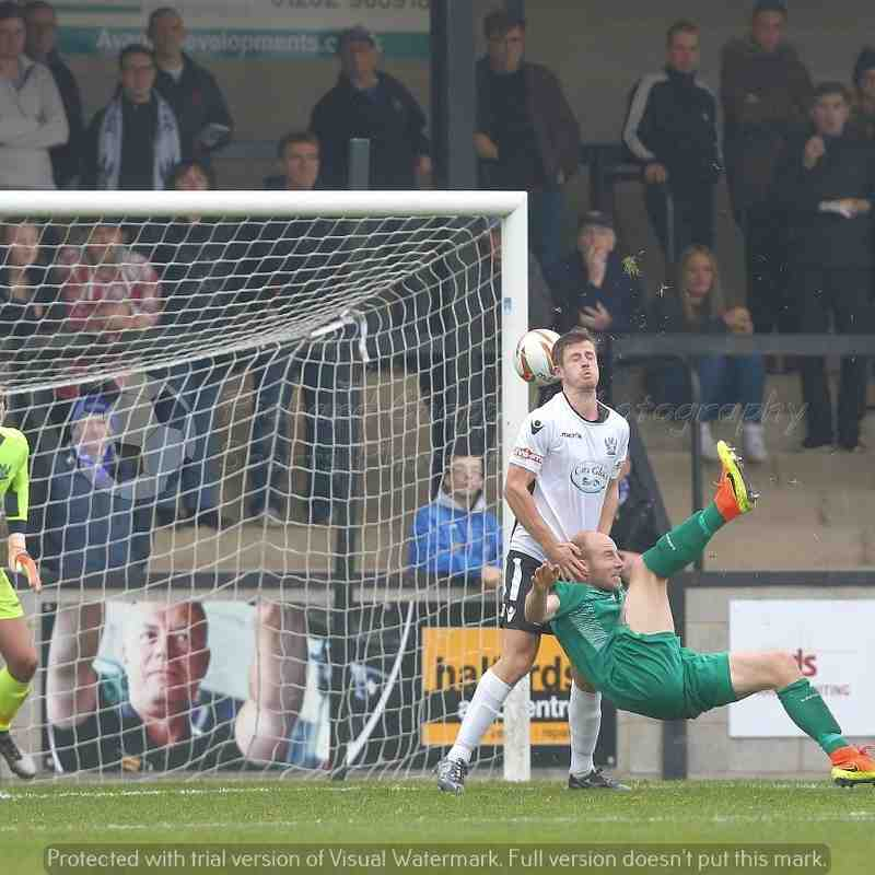 Chippenham Town V Salisbury FC Match Pictures (FA Trophy) 29th Oct 2016