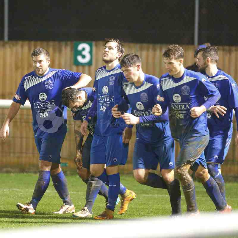 Chippenham Town V Biggleswade Town Match Pictures 10th Dec 2016