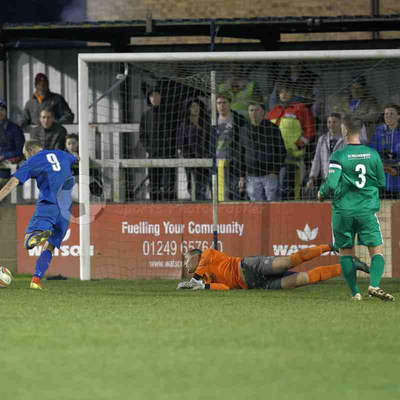 Chippenham Town V Hitchin Town Match Pictures 17th Dec 2016