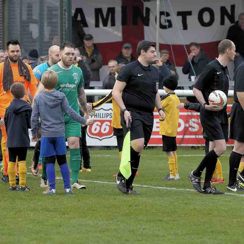Chippenham Town V Leamington Match Pictures 7th Jan 2017