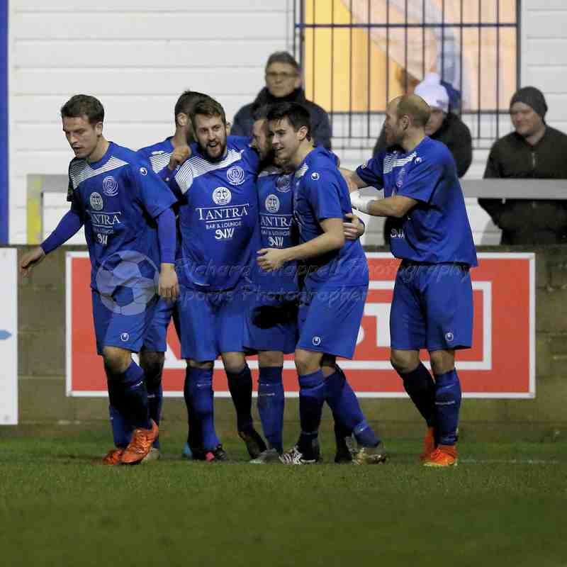 Chippenham Town V Weymouth Match Pictures 10th Jan 2017