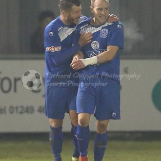 CHIPPENHAM TOWN 2 0 WEYMOUTH – Tues 10th January 2017