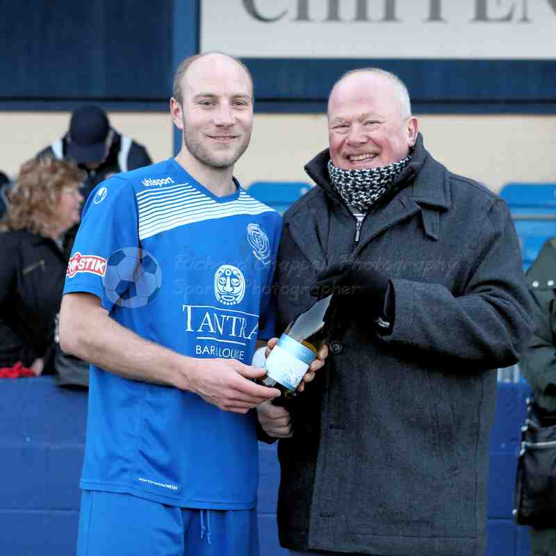 Chippenham Town V Dorchester Town Match Pictures 28th Jan 2017