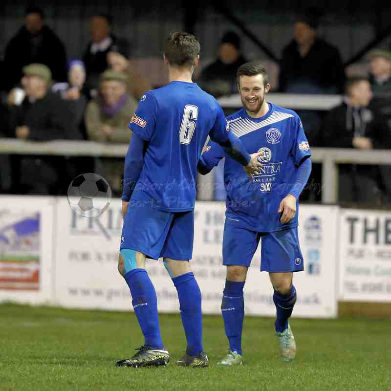 Chippenham Town V Chesham United Match Pictures 7th Feb 2017
