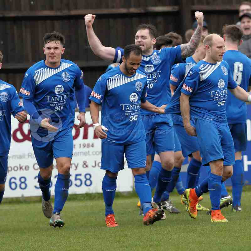 Chippenham Town V Merthyr Town Match Pictures 18th March 2017