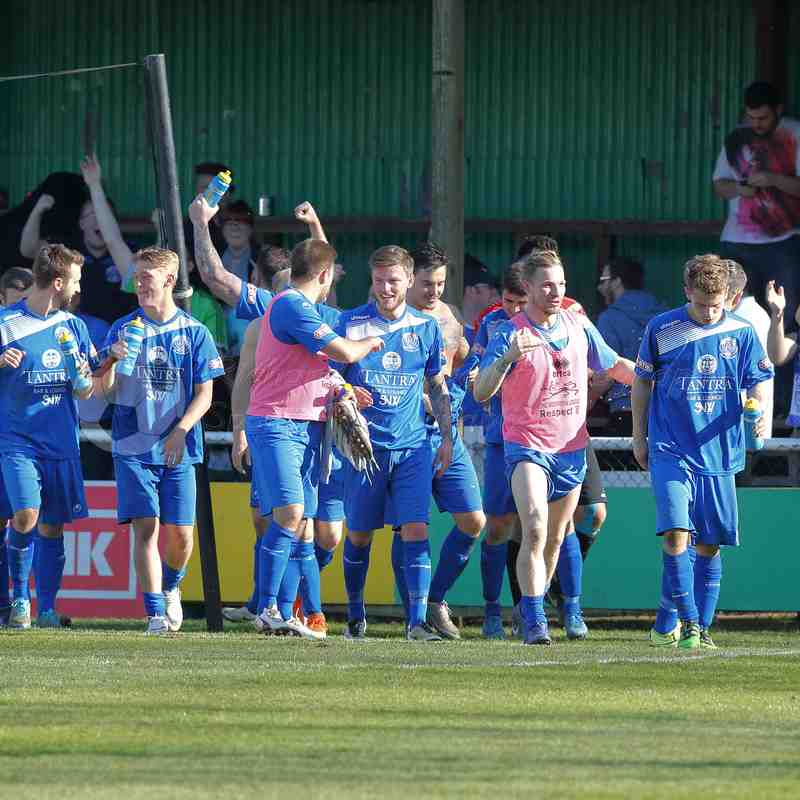 Chippenham Town V Hitchin Town Match Pictures 8th April 2017