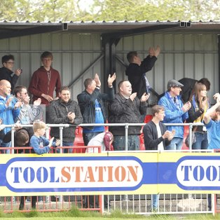 FROME TOWN 0 1 CHIPPENHAM TOWN – Monday 17th April 2017