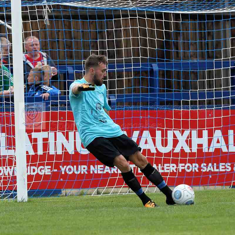 Chippenham Town V Swindon Town Pre-Season 1st August 2017 2017