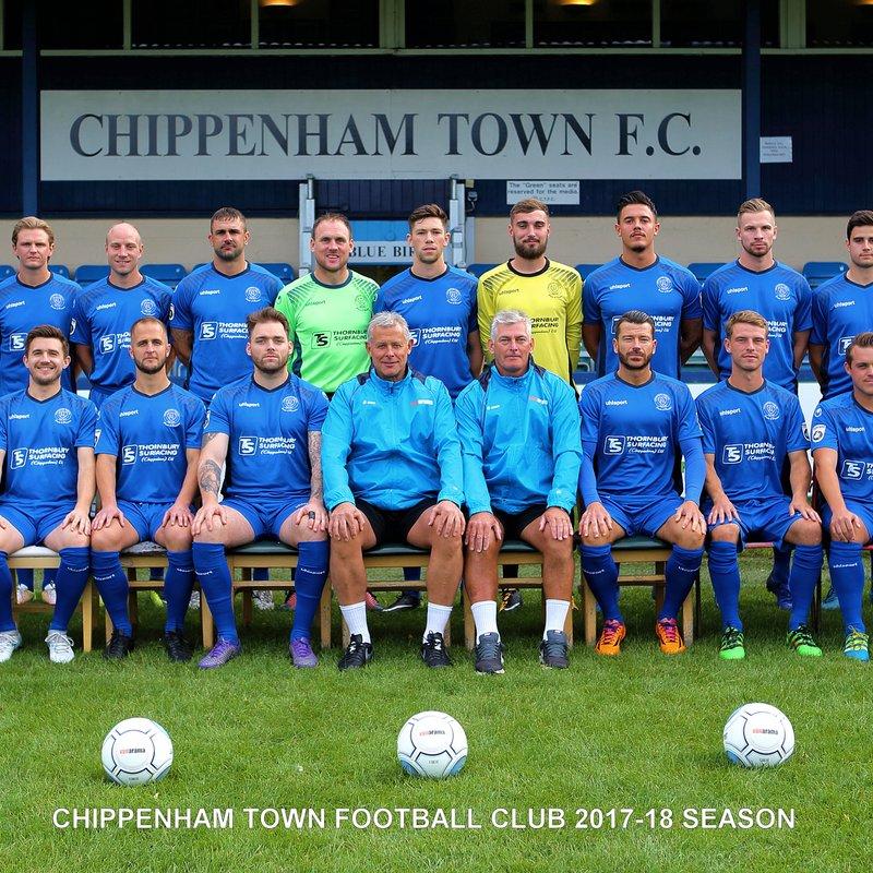 Chippenham Town First Team beat Bognor Regis Town 1 - 3