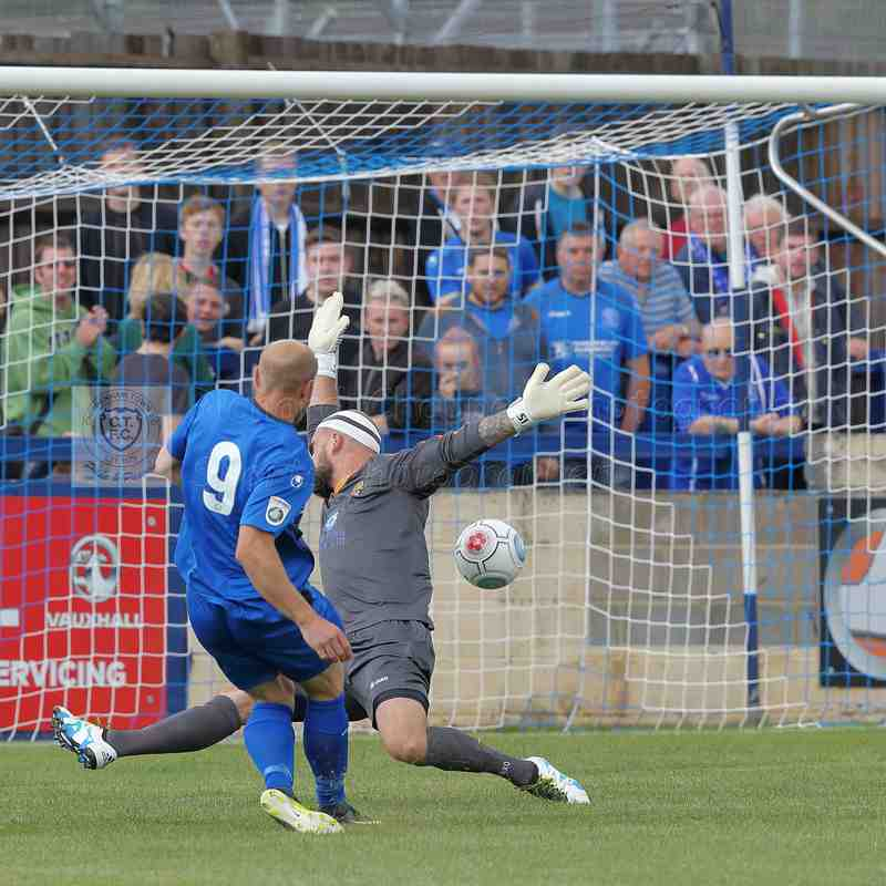 Chippenham Town V East Thurrock United Match Pictures 19th August 2017
