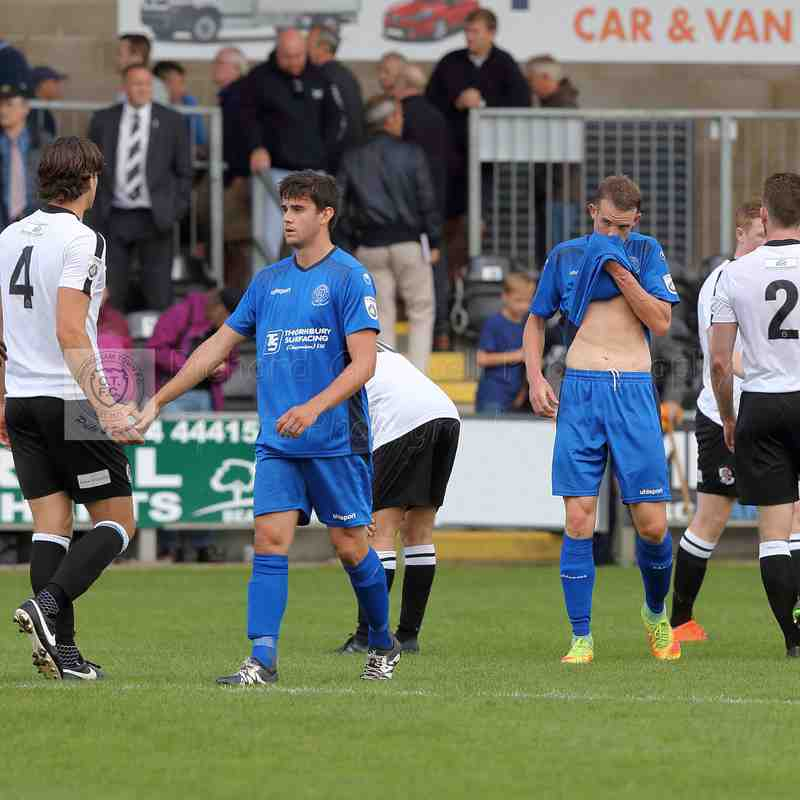 Chippenham Town V Dartford FC Match Pictures 9th September 2017
