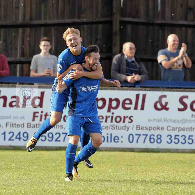 Chippenham Town V Hemel Hempstead Match Pictures 23th September 2017
