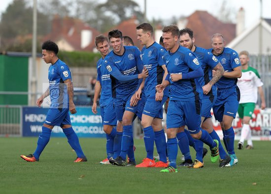 Chippenham Town V Bognor Regis Town Match Pictures 21st October 2017