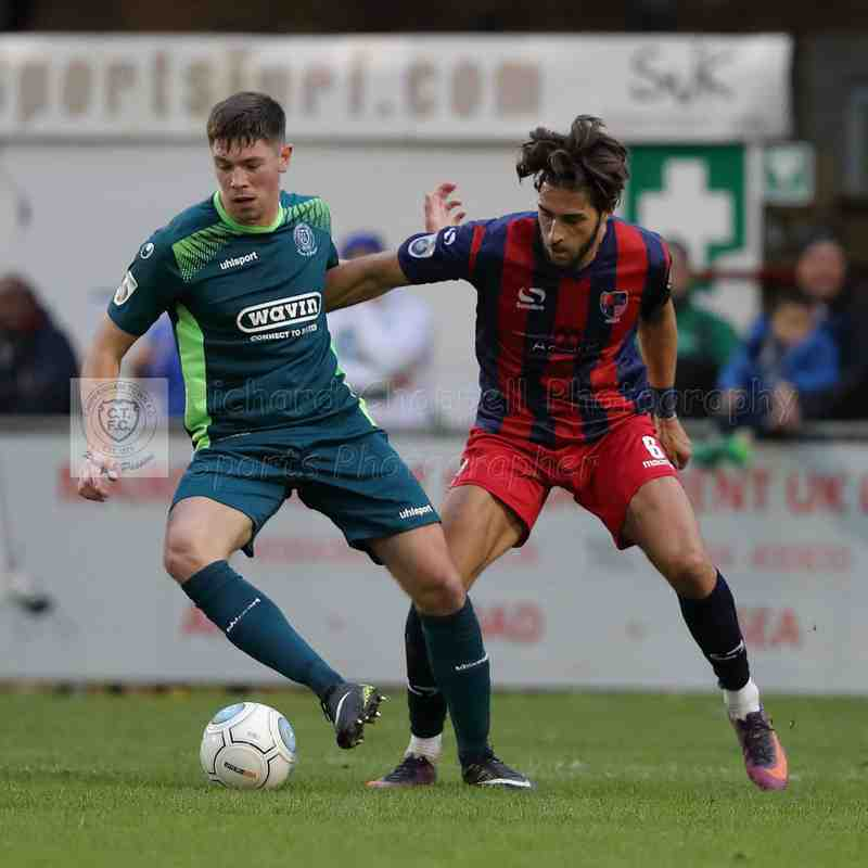 Chippenham Town V Hampton & Richmond Borough Match Pictures 4th November 2017